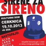 """Dobrodelni koncert """"Sirene za sireno"""""""