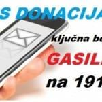 SMS donacija za gasilce