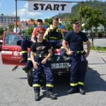 14. gasilski rally terenskih vozil v Postojni