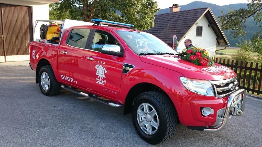 Nova pridobitev GVGP-1 na podvozju Ford Ranger