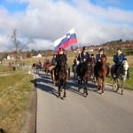 Tradicionalni blagoslov konj v Ivanjem selu