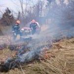 Vaje pripravnikov - požar v naravi