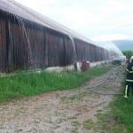 Sektorska vaja - požar skladišča