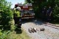 15. tekmovanje ekip gasilskih terenskih vozil v Postojni
